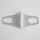 抗菌 洗える和紙ニットマスク グレー