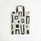 【IDEE TOKYO限定】柚木沙弥郎デザイン SIWA FLATバッグ M ブロック