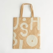 【IDEE TOKYO限定】柚木沙弥郎デザイン SIWA FLATバッグ L アルファベット