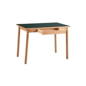STILT TABLE 1000 GREEN BLACK