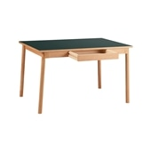 STILT TABLE 1200 GREEN BLACK