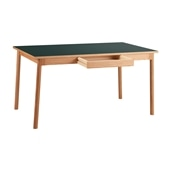 STILT TABLE 1400 GREEN BLACK