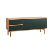 STILT SIDEBOARD L GREEN BLACK