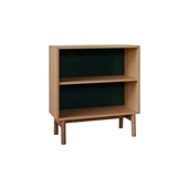 STILT SHELF MEDIUM GREEN BLACK