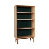 STILT SHELF TALL GREEN BLACK