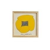 【定番品】山口一郎 「Hana-face yellow」