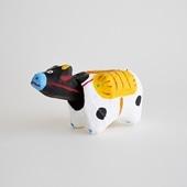 【丑の郷土玩具】金沢張子 俵牛