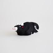 【イデー限定 丑の郷土玩具】八橋人形 牛
