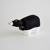 【イデー限定 丑の郷土玩具】張り子 牛