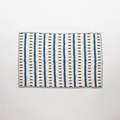 Studio Tolsta ブロックプリントキルト ライン 76×114 ブルー