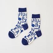 【IDEE TOKYO限定】柚木沙弥郎デザイン IDEE Daily Socks アルファベット M