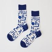 【IDEE TOKYO限定】柚木沙弥郎デザイン IDEE Daily Socks アルファベット L
