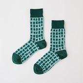 【IDEE TOKYO限定】柚木沙弥郎デザイン IDEE Daily Socks キューブ  L