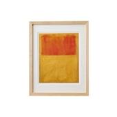 【定番品】マーク・ロスコ 「Orange and Tan,1954」