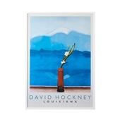 デイヴィッド・ホックニー「Mt.Fuji and flowers」#THEME ART