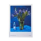 デイヴィッド・ホックニー「Iris with Evian Bottle」#THEME ART