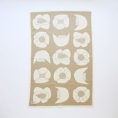 【IDEE限定】Barker Textile コットンブランケット 山口一郎 Flower ベージュ