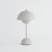 FLOWERPOT PORTABLE TABLE LAMP VP9 マットライトグレー