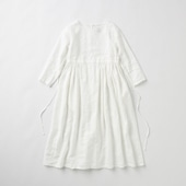 POOL いろいろの服 ギャザーワンピース ホワイト 2020AW