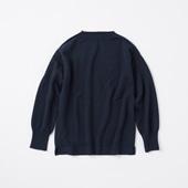 POOL いろいろの服 ノルマンディーセーター L ネイビー 2020AW