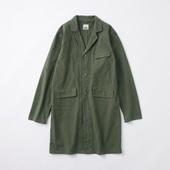 POOL いろいろの服 コットンアトリエコート チャコール 【COAT COLLECTION】