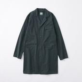 POOL いろいろの服 コットンアトリエコート ネイビー 2020AW【COAT COLLECTION】