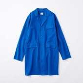 POOL いろいろの服 コットンアトリエコート ロイヤルブルー 2020AW【COAT COLLECTION】