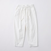 POOL いろいろの服 コットンテーパードパンツ M ホワイト 2020AW