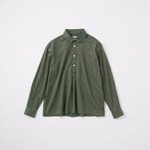 POOL いろいろの服 コットンツイルシャツ チャコール 2020AW