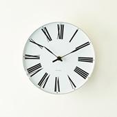 Arne Jacobsen 掛け時計 ROMAN φ210