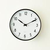 Arne Jacobsen 掛け時計 STATION φ210