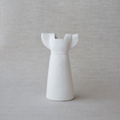 【定番品】Lisa Larson Vases Dress white