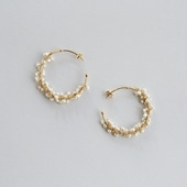 asumi bijoux shirotsumekusa mini pierce