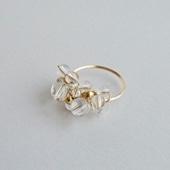 asumi bijoux asatsuyu ring crystal S