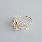 asumi bijoux asatsuyu ring crystal M