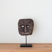 【一点物】ティモール島 ウッドマスクのオブジェ