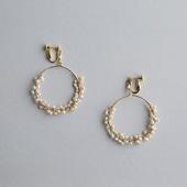 asumi bijoux shirotsumekusa mini earring