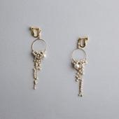 asumi bijoux shirotsumekusa long earring