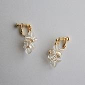asumi bijoux asatsuyu earring crystal