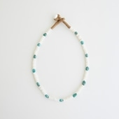 sai Necklace Shell & Turquoise