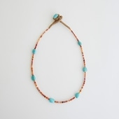 sai Necklace Spiney Oyster Shell & Kingman Turquoise