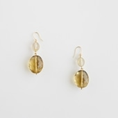 sai Pierce Smoky Quartz & Gold Rutile B
