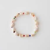 sai Bracelet Mother of Pearl & Vintage Beads