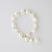 sai Bracelet Mother of Pearl & Pearl