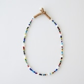 sai Necklace Vintage Beads & Shell