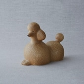 【定番品】Lisa Larson Poodle Brown