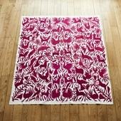 【一点物】オトミ刺繍 タペストリー 65