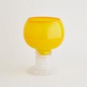 【一点物】kaj Franck Polaali Flower Vase Yellow/フィンランド買付品