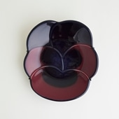 【一点物】Birger Kaipiainen Violette Arabia Display Plate/フィンランド買付品
