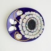 【一点物】Birger Kaipiainen FLORENCE Arabia Display Plate/フィンランド買付品